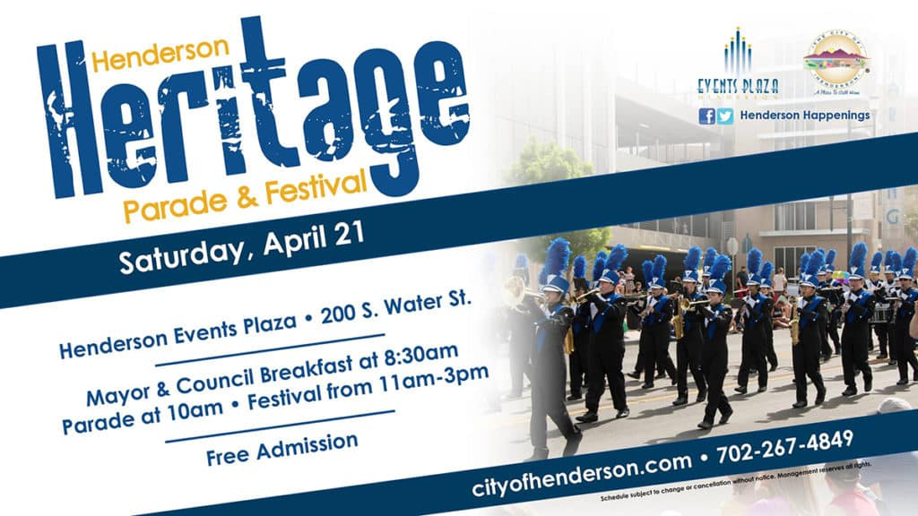 Henderson Heritage Parade and Festival 2018