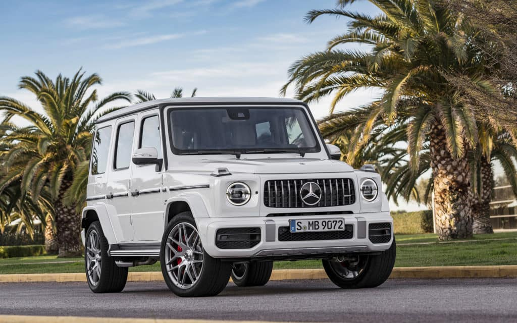 Mercedes Off Road Suv >> 2019 G-Class is Arriving Soon! Here's What to Expect