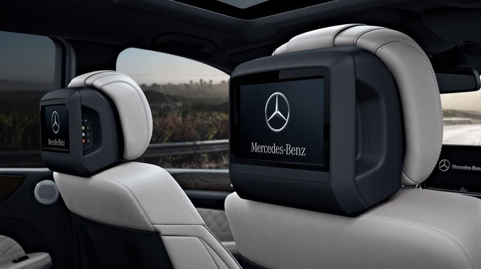Mercedes-Benz Rear Seat Entertainment