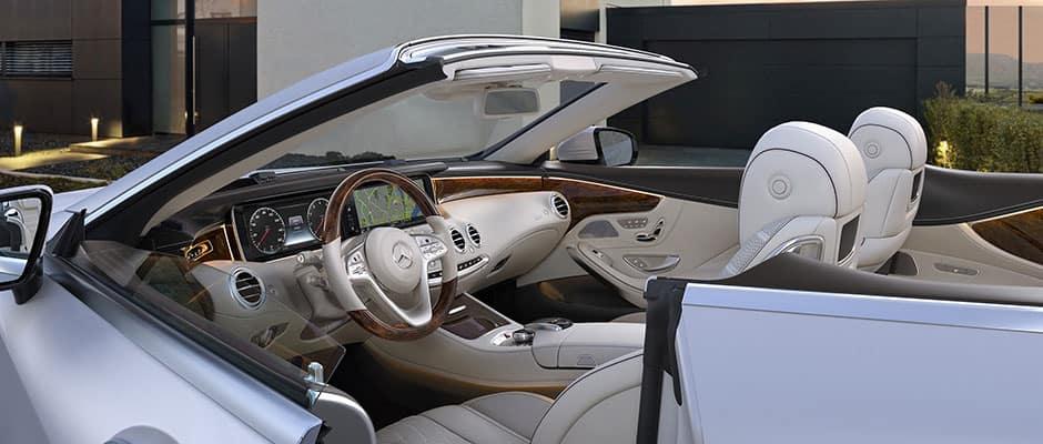 S 560 Cabriolet Interior