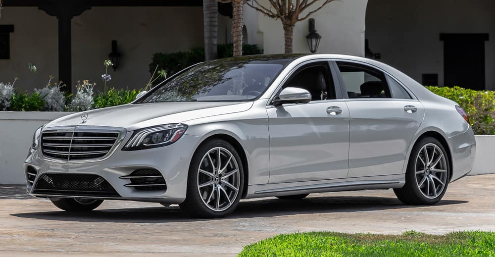 2019 S 560 Previous Loaner