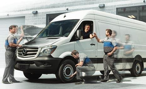 Mercedes-Benz Van Service Intervals