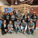 Fletcher Jones Karma Squad volunteers at Second Harvest Food Bank