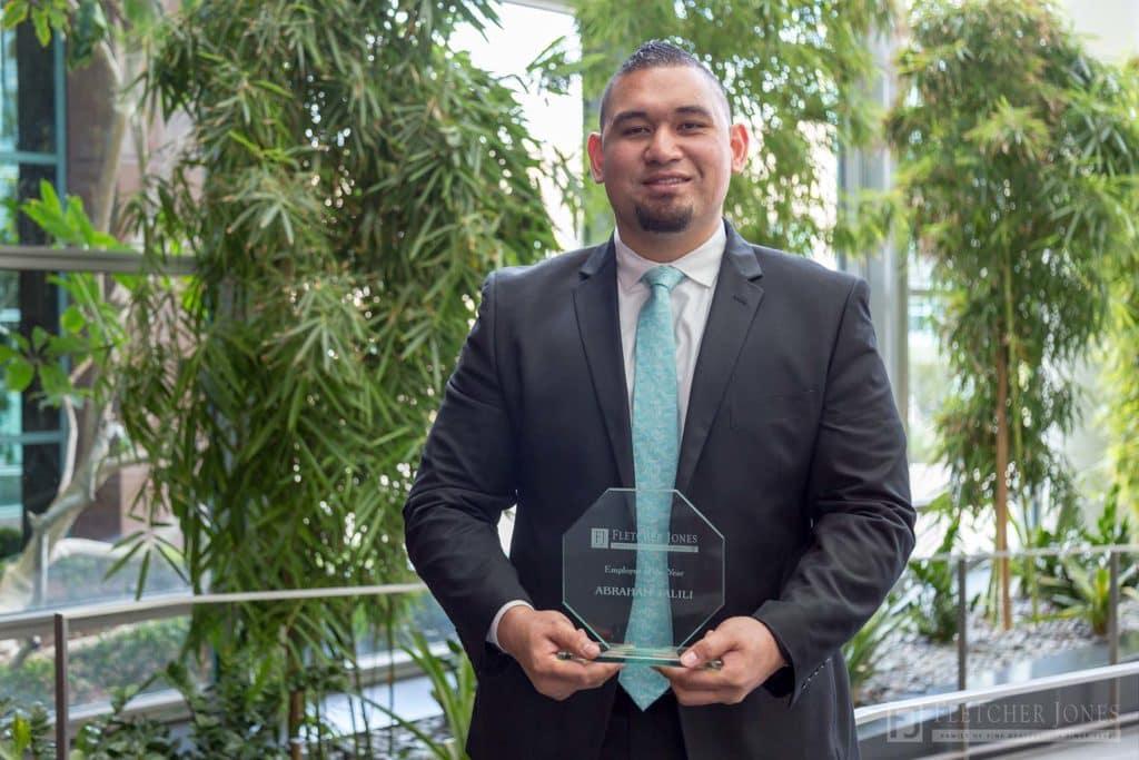 Abraham Talili Fletcher Jones Management West Employee of the Year Award 2017