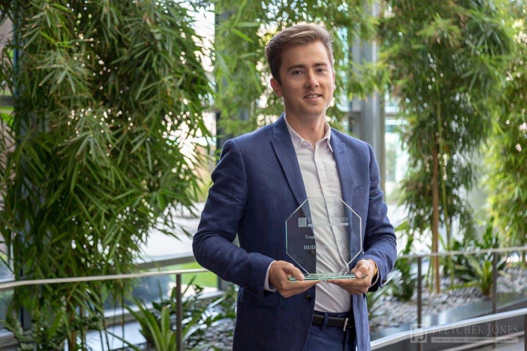 Budd Arnold Fletcher Jones Management West Employee of the Year Award 2017