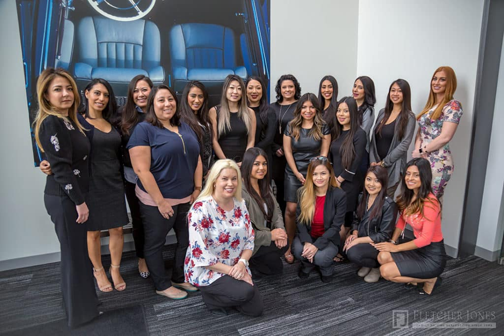 International Women's Day 2018 at Fletcher Jones Management West Newport Beach CA