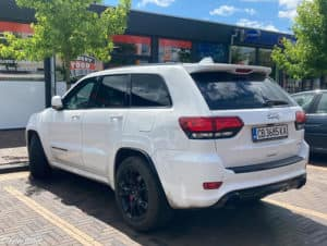 2021 Jeep Grand Cherokee in White