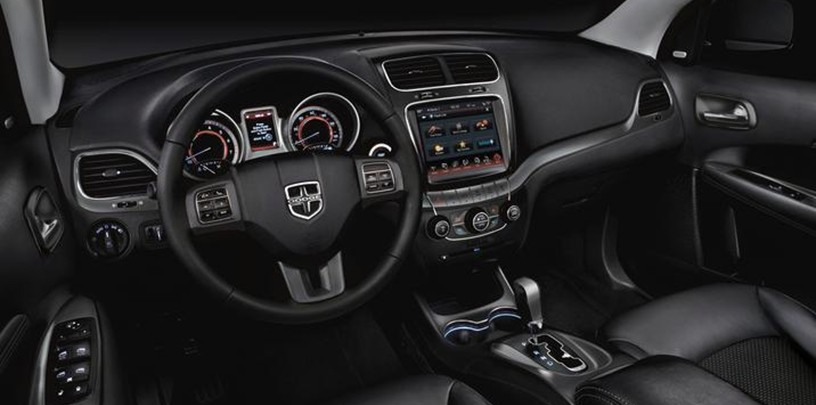 2018 dodge uconnect. modren 2018 and thereu0027s plenty to love about the interior of dodge journey from  leathertrimmed steering wheel available infotainment on 2018 dodge uconnect c