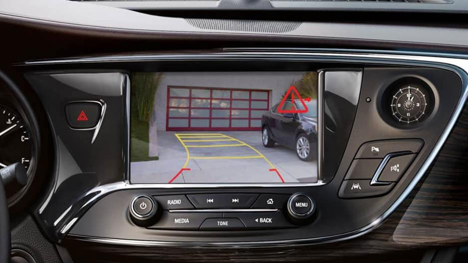 Safety Features of the New Buick Envision at Garber in Saginaw, MI