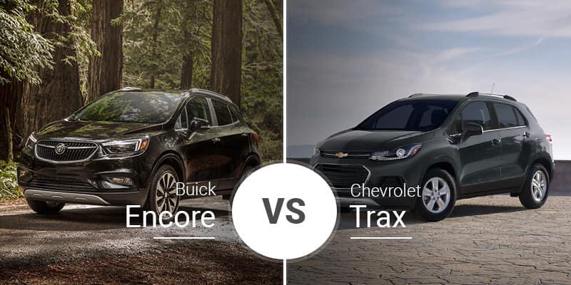 Chevy Trax Vs Buick Encore Subcompact People Hauler Battle