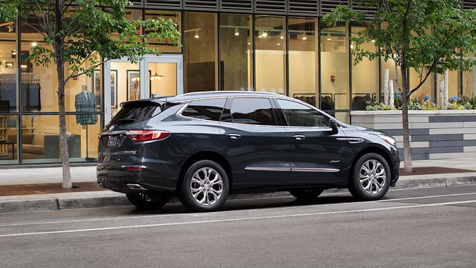 Exterior Features of the New Buick Enclave at Garber in Saginaw, MI