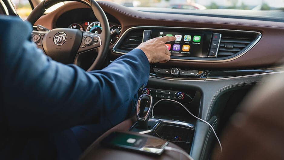 Technology Features of the New Buick Enclave at Garber in Saginaw, MI