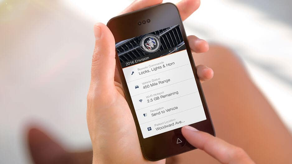Technology Features of the New Buick Envision at Garber in Saginaw, MI