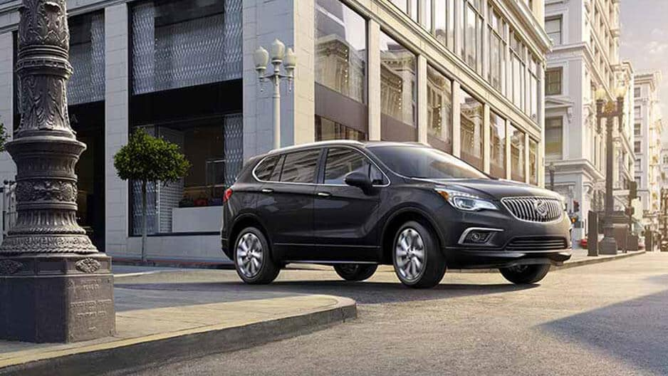 Exterior Features of the New Buick Envision at Garber in Fort-Pierce, FL