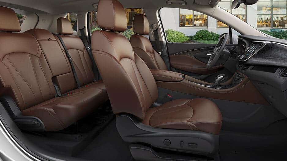 Interior Features of the New Buick Envision at Garber in Fort-Pierce, FL