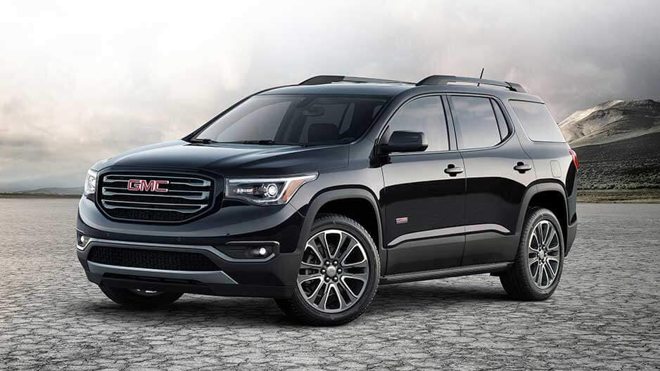 Exterior Features of the New GMC Acadia at Garber in Fort-Pierce, FL