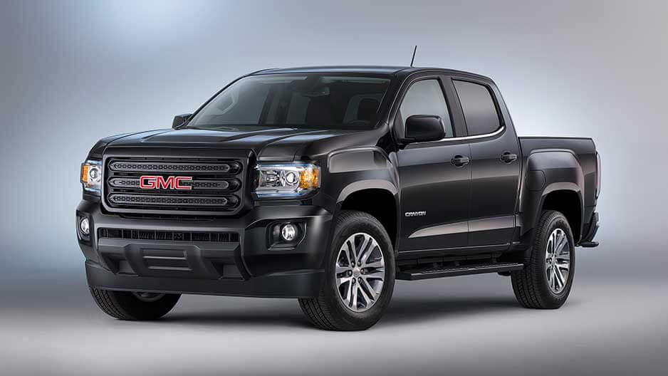 Exterior Features of the New GMC Canyon at Garber in Fort-Pierce, FL