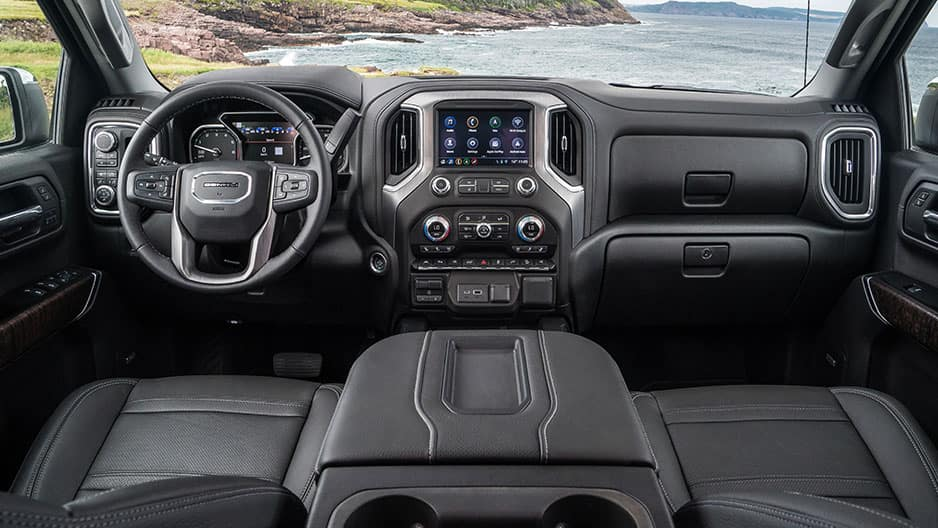 Interior Features of the New GMC Sierra 1500 at Garber in Fort Pierce, FL