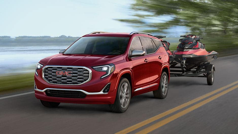 Performance Features of the New GMC Terrain at Garber in Fort-Pierce, FL