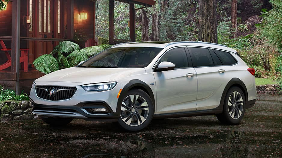 Exterior Features of the New Buick Regal TourX at Garber in Fort Pierce, FL