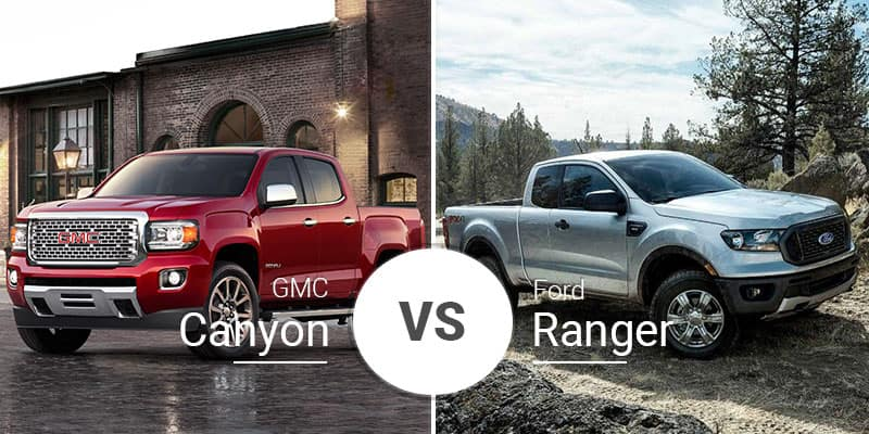Gmc Canyon Vs Ford Ranger Blast From The Past Rivalry