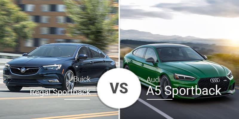 Buick Regal Sportback Vs Audi A5 Sportback