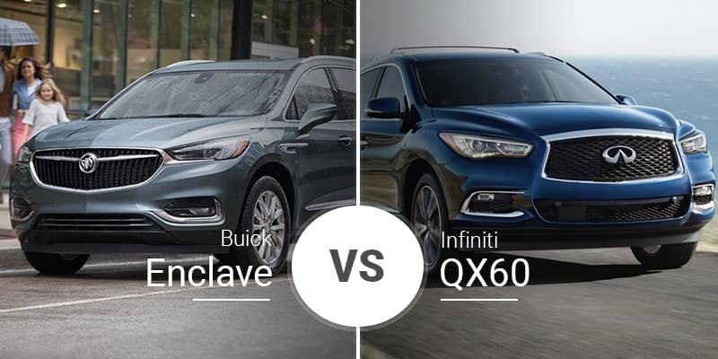 Buick Enclave Vs  Infiniti QX60: The OTHER Luxury Crossovers