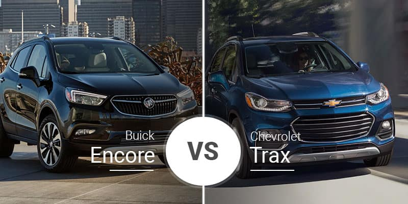 Chevy Trax Vs Buick Encore Subcompact People Hauler Battle