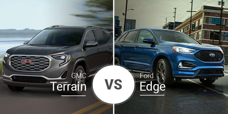 Crossover Vs Suv >> Gmc Terrain Vs Ford Edge Compact Crossover Comparison