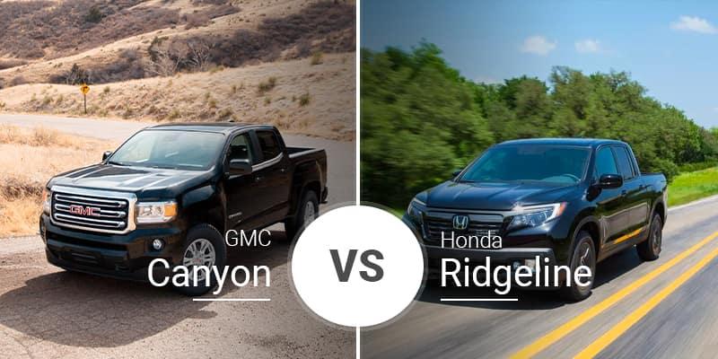 Gmc Canyon Towing Capacity >> 2019 Gmc Canyon Vs 2019 Honda Ridgeline