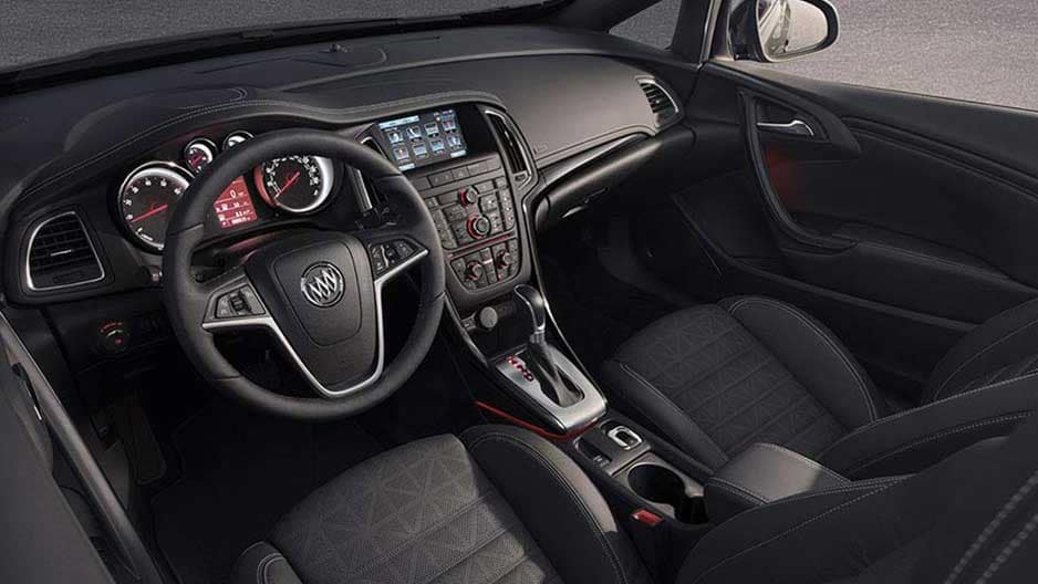 Interior Features of the New Buick Cascada at Garber in Fort-Pierce, FL