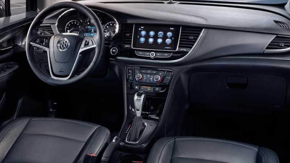 Interior Features of the New Buick Encore at Garber in Fort-Pierce, FL