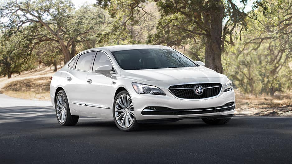 Exterior Features of the New Buick LaCrosse at Garber in Fort-Pierce, FL