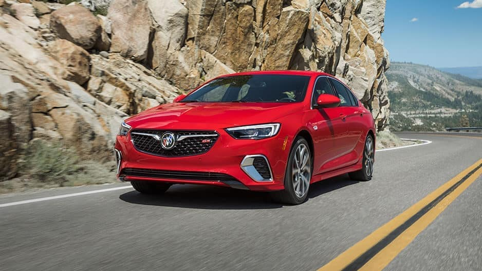 Exterior Features of the New Buick Regal at Garber in Fort-Pierce, FL