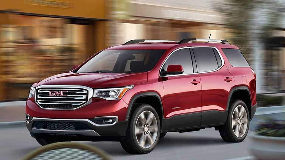 Performance Features of the New GMC Acadia at Garber in Fort-Pierce, FL