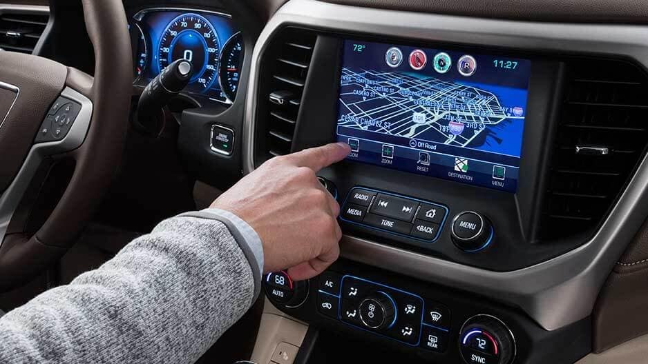 Safety Features of the New GMC Acadia at Garber in Fort-Pierce, FL