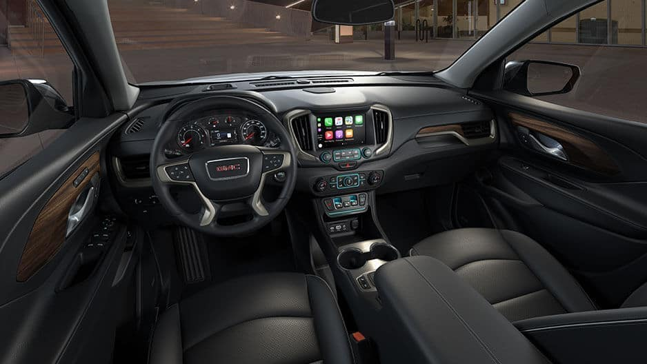 Interior Features of the New GMC Terrain at Garber in Fort-Pierce, FL