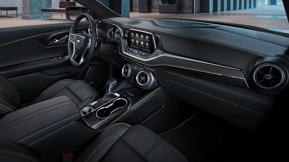 Interior Features of the New Chevrolet Blazer at Garber in Midland, MI