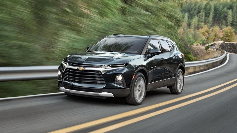 Performance Features of the New Chevrolet Blazer at Garber in Midland, MI