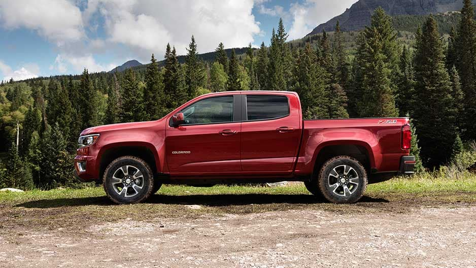 Exterior Features of the New Chevrolet Colorado at Garber in Midland, MI