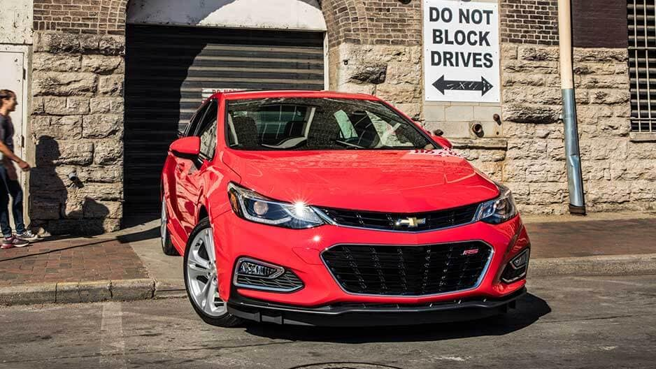 Exterior Features of the New Chevrolet Cruze at Garber in Midland, MI