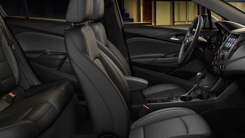Interior Features of the New Chevrolet Cruze at Garber in Midland, MI