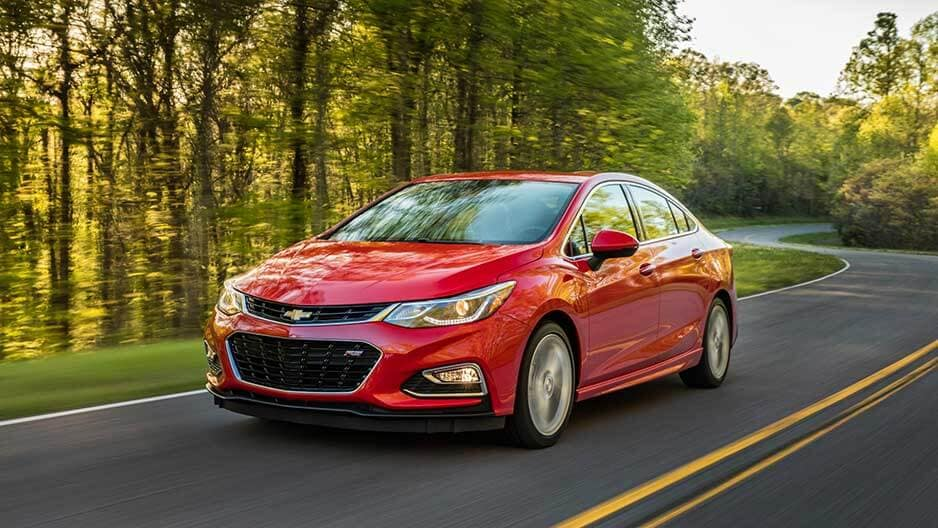 Performance Features of the New Chevrolet Cruze at Garber in Midland, MI