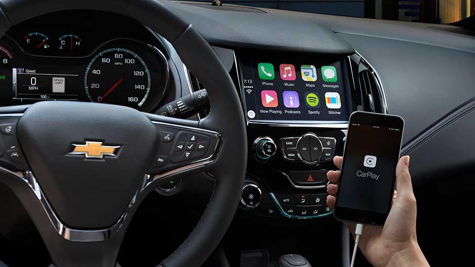 Technology Features of the New Chevrolet Cruze at Garber in Midland, MI