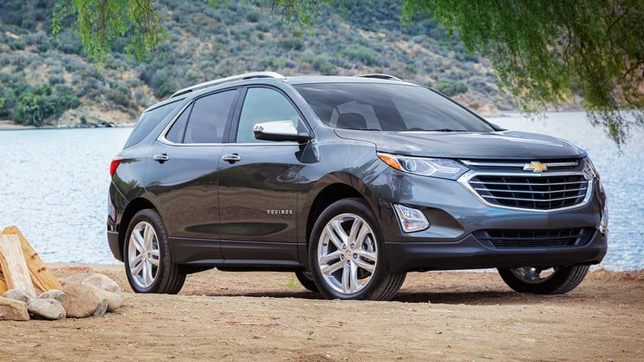 Exterior Features of the New Chevrolet Equinox at Garber in Midland, MI