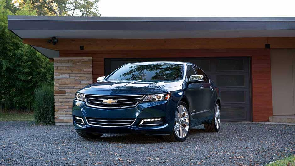 Exterior Features of the New Chevrolet Impala at Garber in Midland, MI