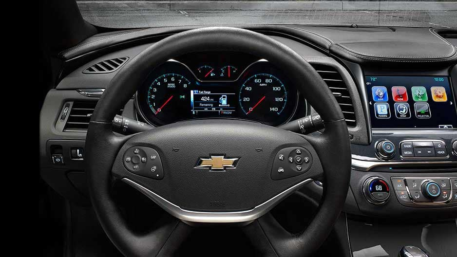 Safety Features of the New Chevrolet Impala at Garber in Midland, MI