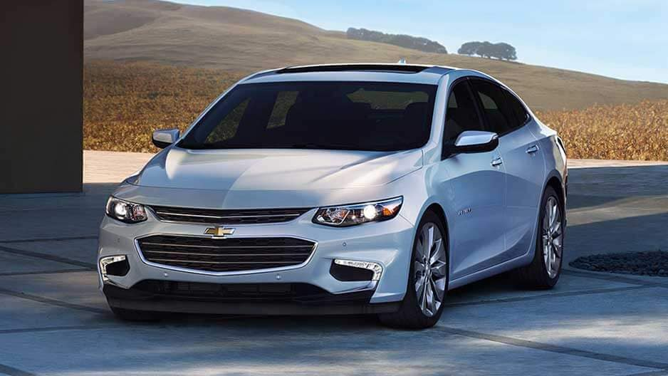 Exterior Features of the New Chevrolet Malibu at Garber in Midland, MI