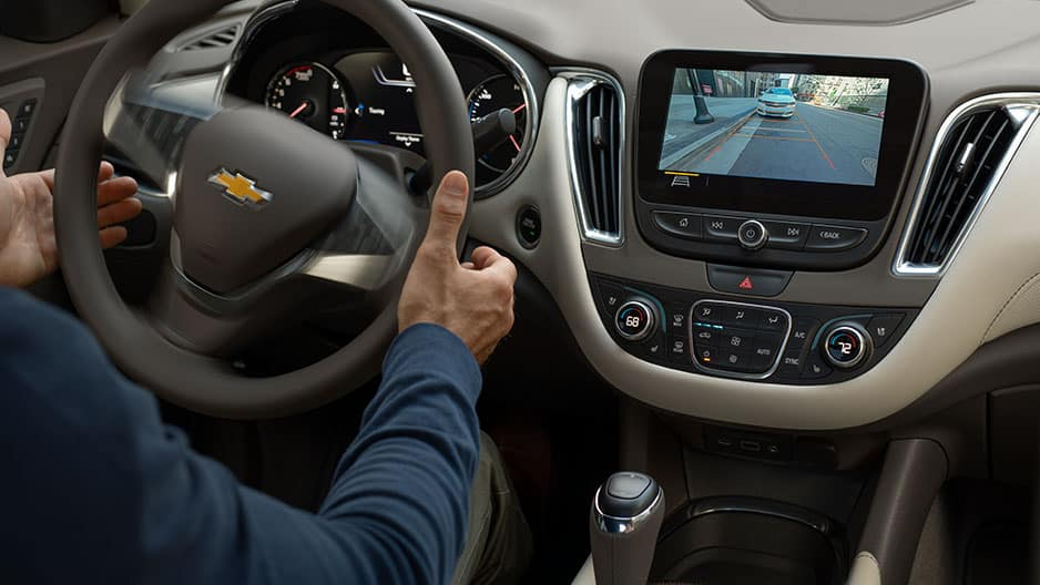 Safety Features of the New Chevrolet Malibu at Garber in Midland, MI