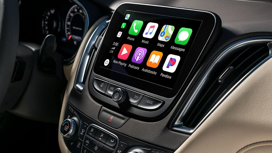 Technology Features of the New Chevrolet Malibu at Garber in Midland, MI